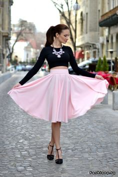 Perfect early spring look!