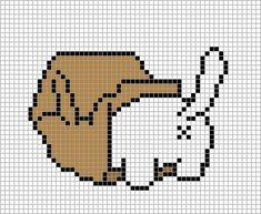 Kawaii Cross Stitch, Just Cross Stitch, Beaded Cross Stitch, Cross Stitch Embroidery, Cat Cross Stitches, Cross Stitch Bookmarks, Cross Stitching, Cross Stitch Designs, Cross Stitch Patterns