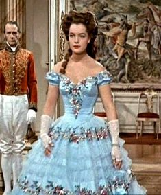 Sissi movie costumes, love this blue dress!