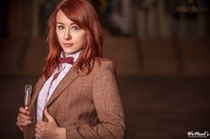 Dr. Who gender-swapping cosplay