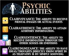Psychic Abilities...gifted. The first 3 have been high vibrational for me this few days. Loving it! Feeling blessed.