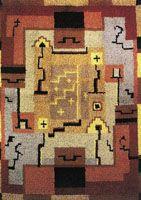 Ryijypalvelu RP Oy Rya Rug, Wool Rug, Folklore, Finland, Mid-century Modern, Nostalgia, Carpet, Mid Century, Rugs