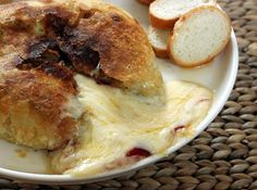 Baked Brie with Raspberry Preserves Recipe : Decorating : Home & Garden Television