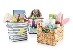 Thirty-One Gifts – Easter\'s on the way! #ThirtyOneGifts #ThirtyOne #Monogramming #Organization #February2018Special #TwoMiniStorageBins #DeluxeOrganizingUtilityTote
