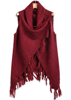 Tassel Knit Vest would be nice especially in a nice neutral color