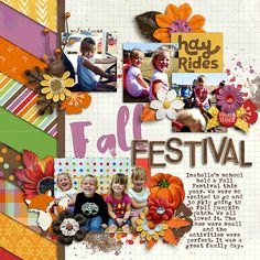 Fall Festival by NatalieKW using  About Autumn by Brook Magee & Two Tiny Turtles, available at Sweet Shoppe Designs
