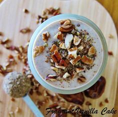 Vegan Pecan Pie Mylkshake and Sprout Living Giveaway! | Fragrant Vanilla Cake