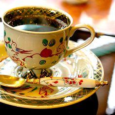 Coffee cup japanese style by karaku*, via Flickr