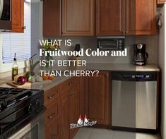Fruitwood will never go out of style! Learn more about the timeless magic of fruitwood and if it's truly better than cherry here: Colorful Kitchens, Cherry Kitchen, Cherry Cabinets, Kitchen Colors, Out Of Style, Kitchen Cabinets, Good Things, Magic, Home Decor
