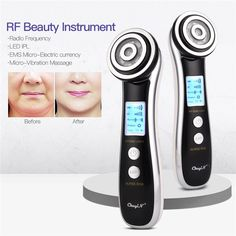 RF EMS LED Photon Rejuvenation Massage Machine Face Lift Skin Tighten – REX6FREE Radio Frequency Facial, Led Facial, Massage Machine, Wrinkle Remover, Face Skin Care, Skin Tightening, Good Skin, Whitening, Face Beauty