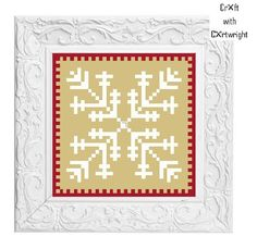 Cross stitch pattern Christmas Snowflake £1.80 by CraftwithCartwright