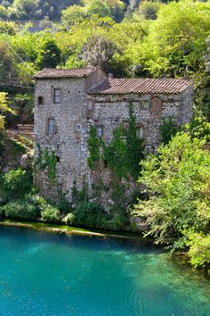 Stifone - Umbria, Italy. Castles and water? Oh my!
