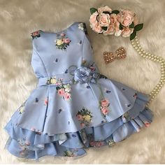 Ideas Baby Girl Outfits Indian For 2019 Baby Girl Party Dresses, Little Girl Dresses, Baby Dress, Nice Dresses, Girls Dresses, Pagent Dresses, Dresses Dresses, Fall Dresses, Long Dresses