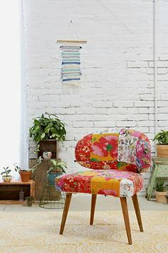 Magical Thinking Modern Patchwork Chair