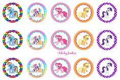 Freebies: My Little Pony bottle cap images (FREE)
