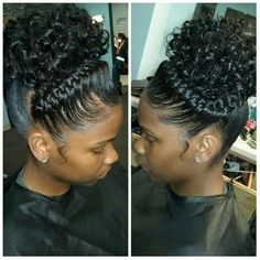 Goddess Braids with Curls For many years I had dreams of having my hair styled w. Goddess Braids w Cute Braided Hairstyles, Teen Hairstyles, My Hairstyle, Black Girls Hairstyles, Brunette Hairstyles, Wedding Hairstyles, Bouffant Hairstyles, Beehive Hairstyle, Fringe Hairstyles