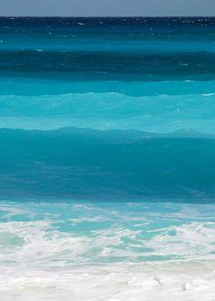 Los colores del mar.