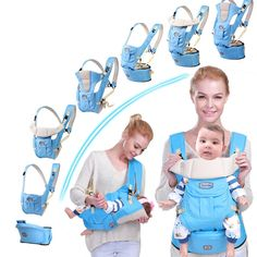 Mother & Kids Activity & Gear 2019 Baby Carrier Infant Baby Hipseat Carrier Front Facing Ergonomic Kangaroo Baby Wrap Sling For Baby Travel 0-3 Years Old Factory Direct Selling Price