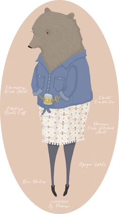 What to Wear: to Meet the Parents | Outfit illustrated by me in partnership with @anthropologie