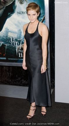 Premiere of 'Harry Potter and the Deathly Hallows Part 1' at Alice Tully Hall Emma Watson photo