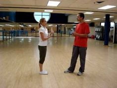 Head Over Heels demonstrates the Left-Right turn with a kick-ball-change variation for boogie woogie dancing. This is a basic dance move for swing dance variation boogie woogie. This is similar to jive dancing.