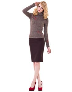 Водолазка модель №131206, цена 1 119 руб., купить в интернет-магазине женской одежды Lo.