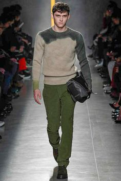 Bottega Veneta | Fall 2014 Menswear Collection | Style.com ^~^ color fusion sweater !