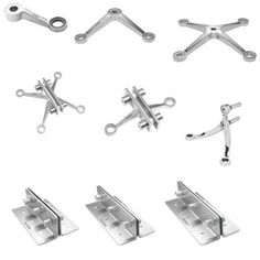 Glass Patch Fittings - Structural Glazing Spider Fittings, Glass ...