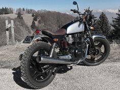 Honda Cb400 Scrambler Motorcycles Motorcycle Motorbikes Biking Motors