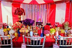 'Circus' Themed Photoshoot, Ruby Weddings. Furniture & Linen Supplier: Oxford Event Hire. www.rubyandstardust.co.uk