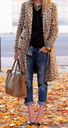 Street style woman coat trend 2015 | Just Trendy Girls