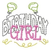 FREE! Birthday Girl and Boy - 4x4 | FREE | Machine Embroidery Designs | SWAKembroidery.com HeartStrings Embroidery