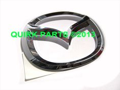 *2009-2013 Mazda 6 Rear Chrome Mascot Emblem Logo OEM NEW GS3L-51-731 #Mazda