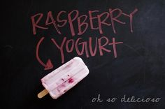 Raspberry Yogurt Pops from Oh So Delicioso; So easy! This is one to try!