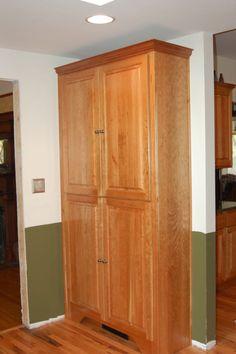 Rustic Farmhouse Pantry Cabinet Pinterest Spanish