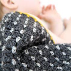 Free lalylala crochet pattern 'Rice Seed Blanket'