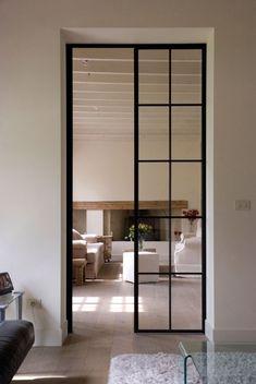 Guides to Choosing A Glass Door Design That'll Fit Your House - haus - Mobel Crittal Doors, Door Design, House Design, Glass Design, Steel Doors And Windows, Metal Doors, Interior Architecture, Interior Design, Modern Door