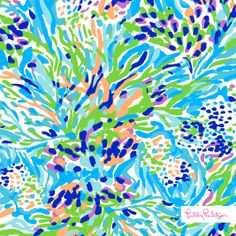 Lilly Pulitzer Spring '14 Sea Soiree Print