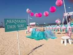 Mermaid birthday Theme by Hansel Gretel Party