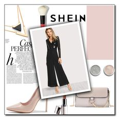 """SheIn 8/VII"" by amina-haskic ❤ liked on Polyvore featuring Bobbi Brown Cosmetics, Terre Mère, Whiteley, Barry M and shein"