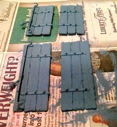 balsa wood shutters WIP
