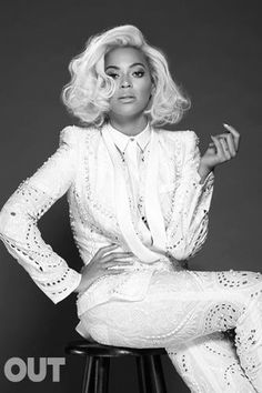 Beyonce for OUT Magazine May 2014