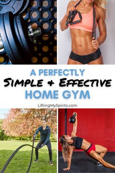 You don't need to have a lot of equipment to get yourself set up at home to workout effectively. And it can be done without spending a fortune. Includes suggested exercises. #fitnesstips#homegym#loseweight#Getfit#healthyliving#fatloss#fitover40#fitover50#selfcare#getfittips Beginner Workout At Home, Easy At Home Workouts, Workout Routine For Men, Home Exercise Routines, At Home Workout Plan, Workout Guide, Workout Plans, Health And Fitness Tips, Fitness Blogs