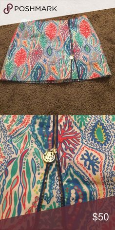 Lilly Pulitzer skirt Cute Lilly skirt only worn once Lilly Pulitzer Skirts Mini