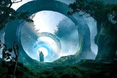 As árvores Portal de Xanatias