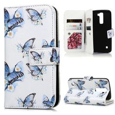 For LG Case Cute Leather Flip Stand Wallet Case Cover Shockproof Relief Color Painting Tower Housing for LG Card Slot Lg Cases, Slot, Tower, Notebook, 3d, Wallet, Leather, Painting, Shopping