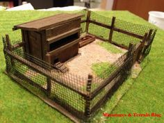 Miniatures & Terrain: How to: Make a Chicken Coop