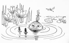 Moomin Picture Poster 24 cm x 30 cm Little My Tove Jansson Illustrations Moomin Books, Moomin Mugs, Les Moomins, Tove Jansson, Little My, Retro, Art Sketches, Fairy Tales, Wings