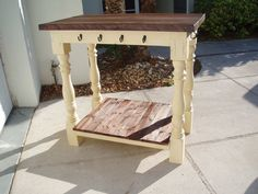 Kitchen Island FREE SHIPPING by ThePolishedPear on Etsy, $695.00