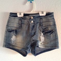 High waisted shorts High waisted shorts worn only a few times. H&M Shorts Jean Shorts